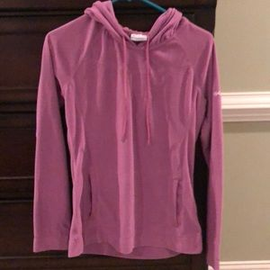 Columbia purple hoodie jacket